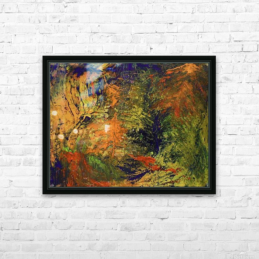 Spring Thaw HD Sublimation Metal print with Decorating Float Frame (BOX)