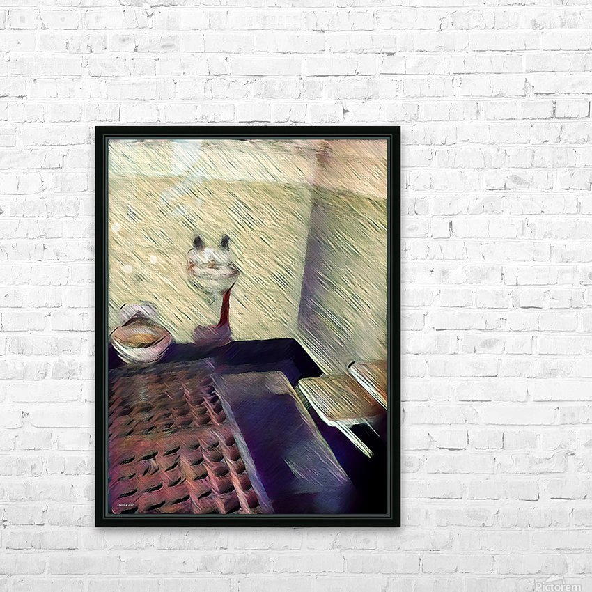 Alcatraz HD Sublimation Metal print with Decorating Float Frame (BOX)