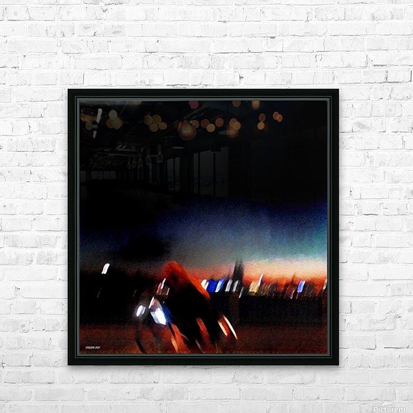 Kölnisch HD Sublimation Metal print with Decorating Float Frame (BOX)