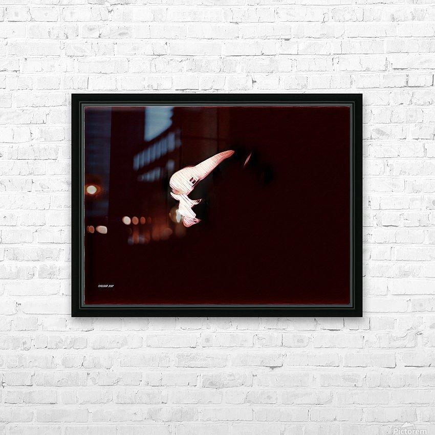 Brüste HD Sublimation Metal print with Decorating Float Frame (BOX)