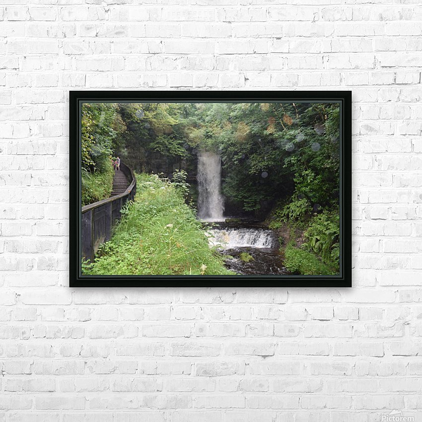 GLENCAR WATERFALL HD Sublimation Metal print with Decorating Float Frame (BOX)