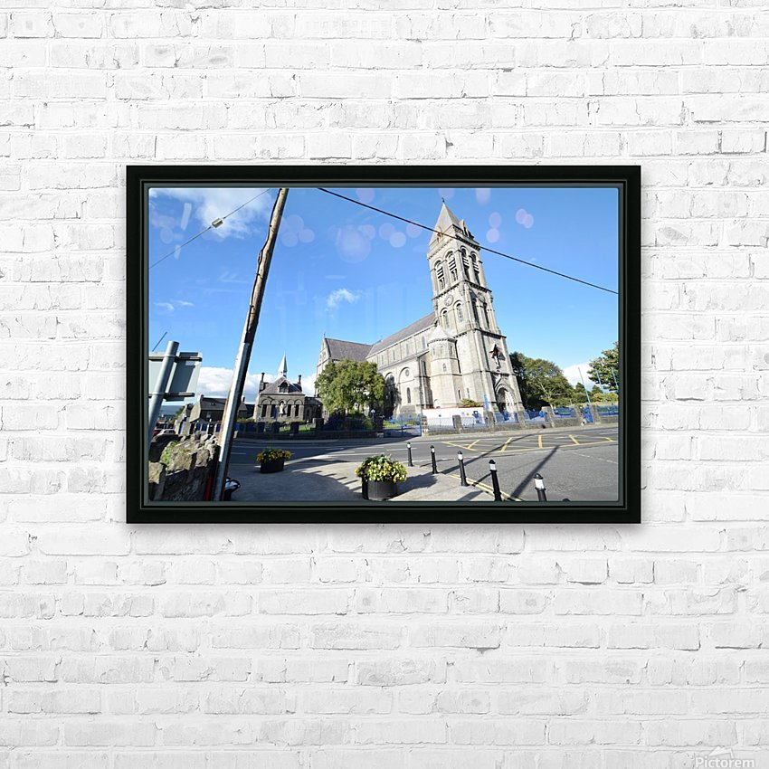 CATHEDRAL, SLIGO HD Sublimation Metal print with Decorating Float Frame (BOX)