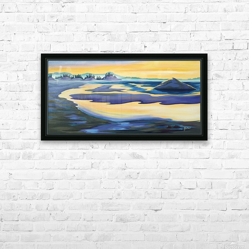Tofino Beauty HD Sublimation Metal print with Decorating Float Frame (BOX)
