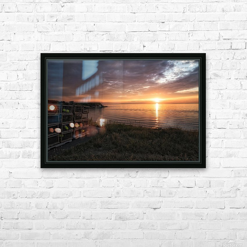 Resignation HD Sublimation Metal print with Decorating Float Frame (BOX)