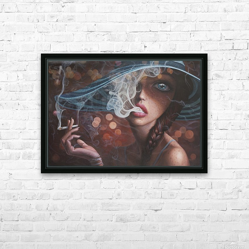 Enter The Void HD Sublimation Metal print with Decorating Float Frame (BOX)