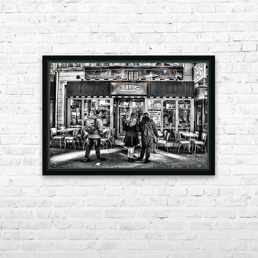 Happy Days HD Sublimation Metal print with Decorating Float Frame (BOX)