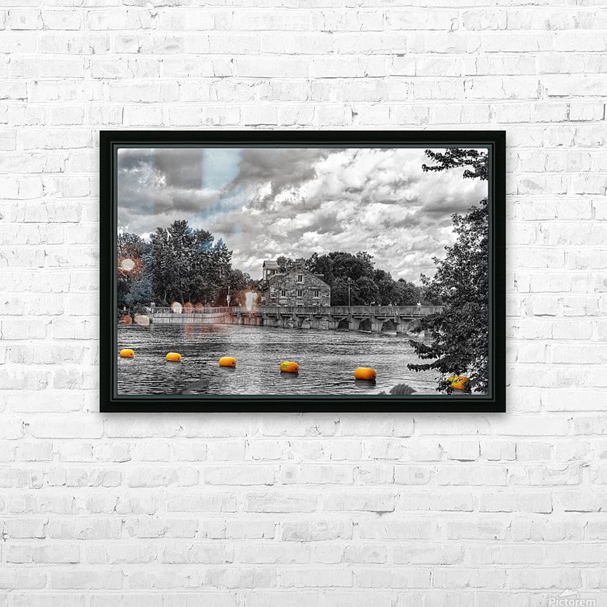 The Dam HD Sublimation Metal print with Decorating Float Frame (BOX)