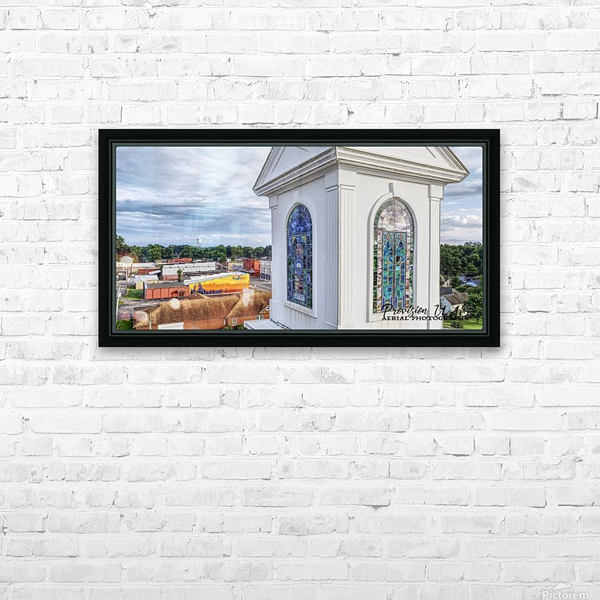 Beebe, AR   Downtown HD Sublimation Metal print with Decorating Float Frame (BOX)
