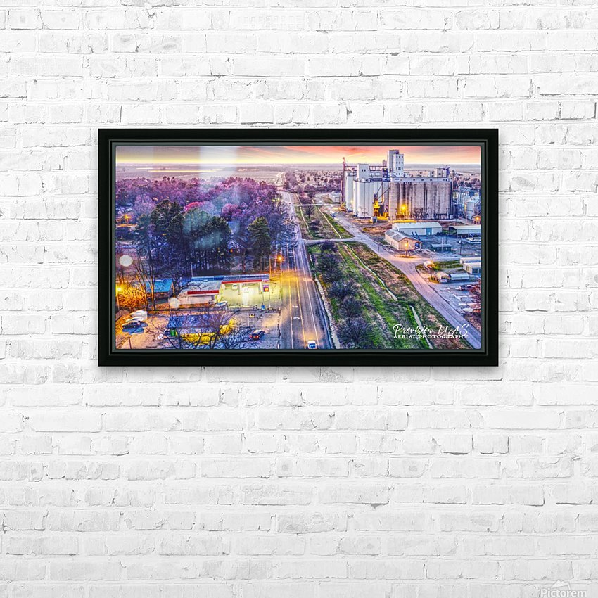 Lonoke AR | West down Hwy 70 HD Sublimation Metal print with Decorating Float Frame (BOX)