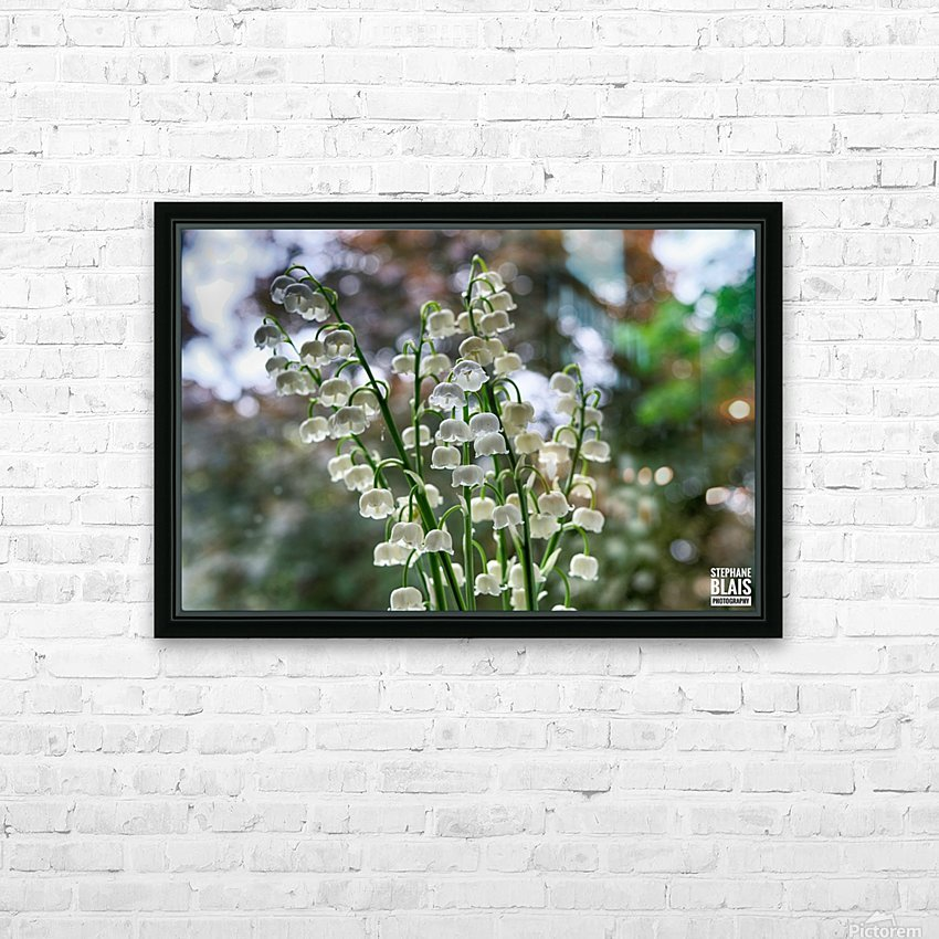 Thrush Flowers HD Sublimation Metal print with Decorating Float Frame (BOX)
