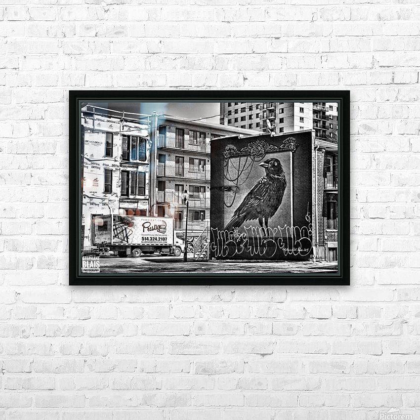 The Raven HD Sublimation Metal print with Decorating Float Frame (BOX)