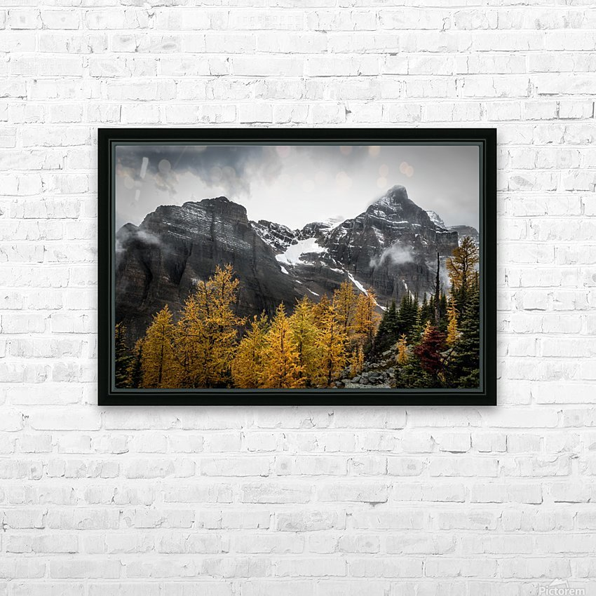Temple Mountain HD Sublimation Metal print with Decorating Float Frame (BOX)