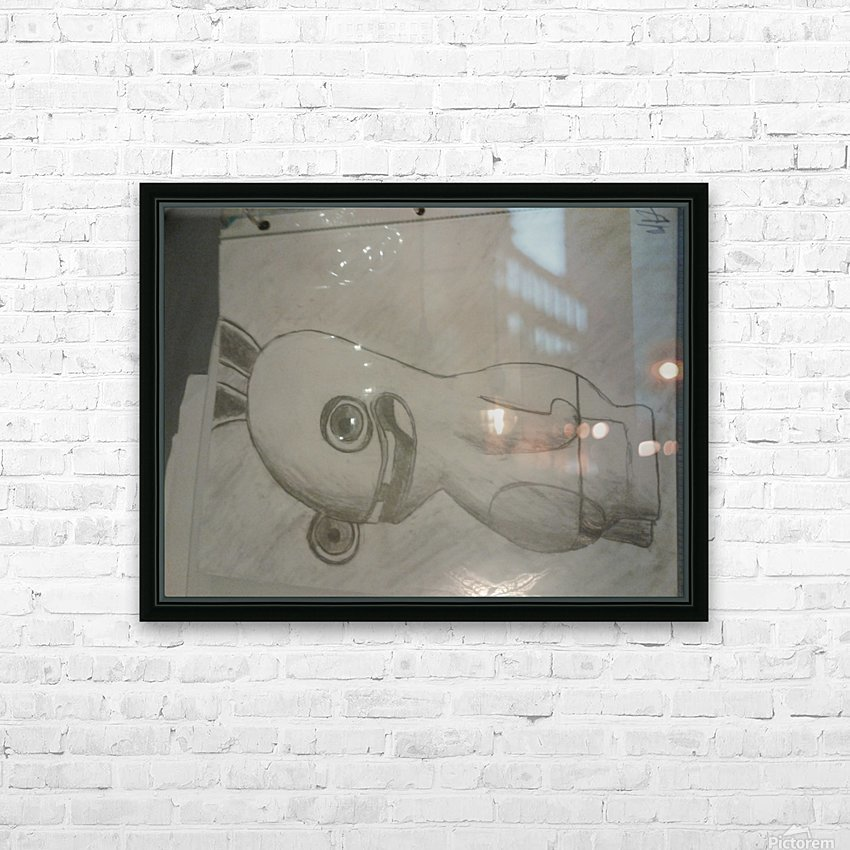20170914_214158 rabbids HD Sublimation Metal print with Decorating Float Frame (BOX)