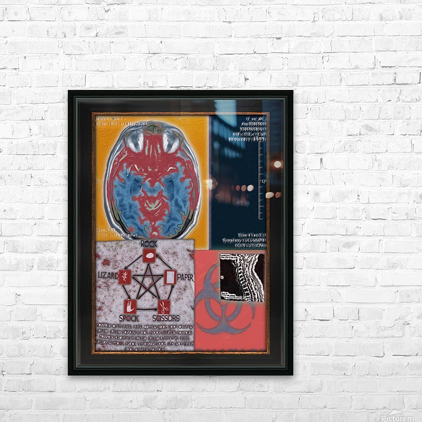 Chronicles 1 HD Sublimation Metal print with Decorating Float Frame (BOX)