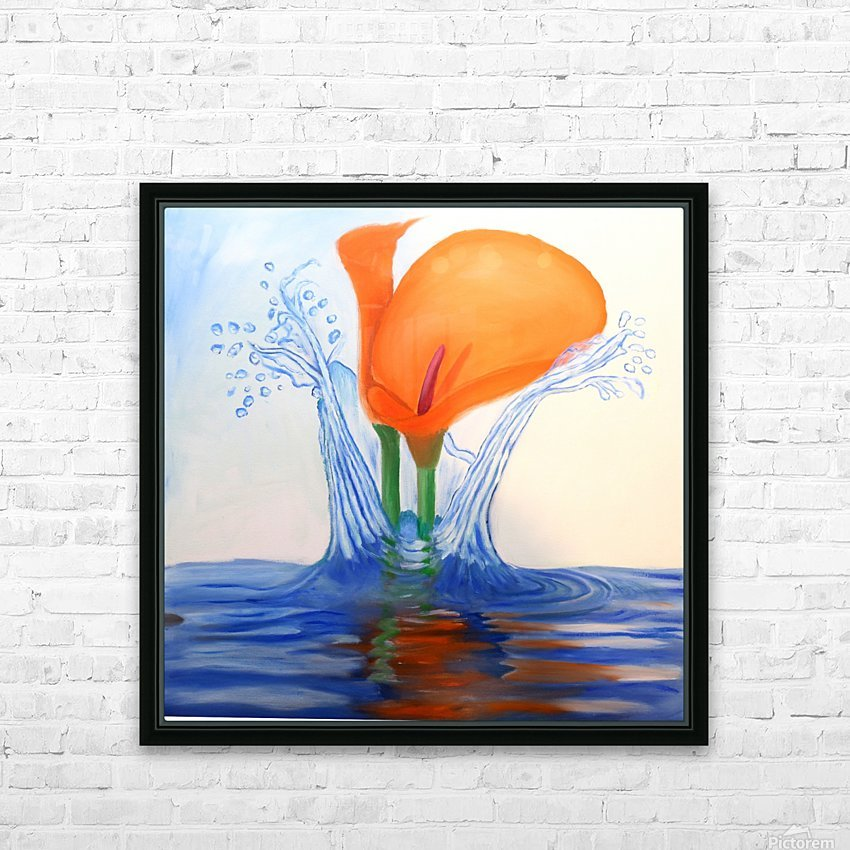 IMG_0665 HD Sublimation Metal print with Decorating Float Frame (BOX)