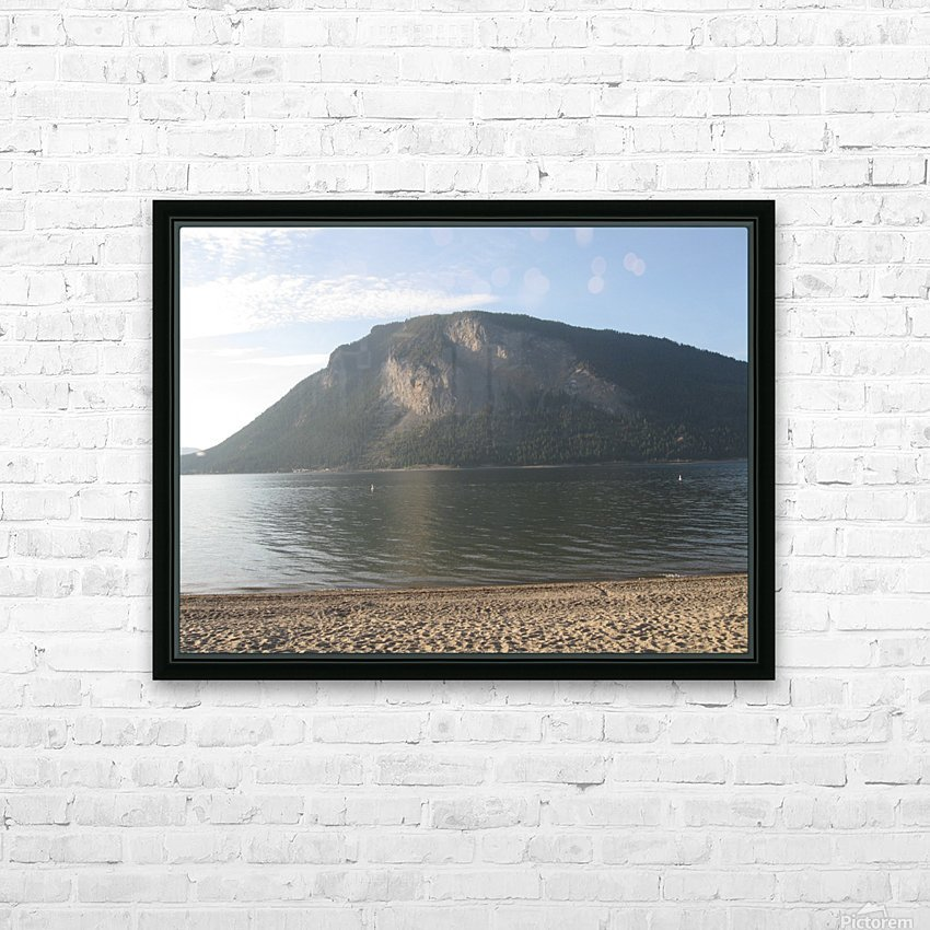 Mount Ida On The Beach HD Sublimation Metal print with Decorating Float Frame (BOX)