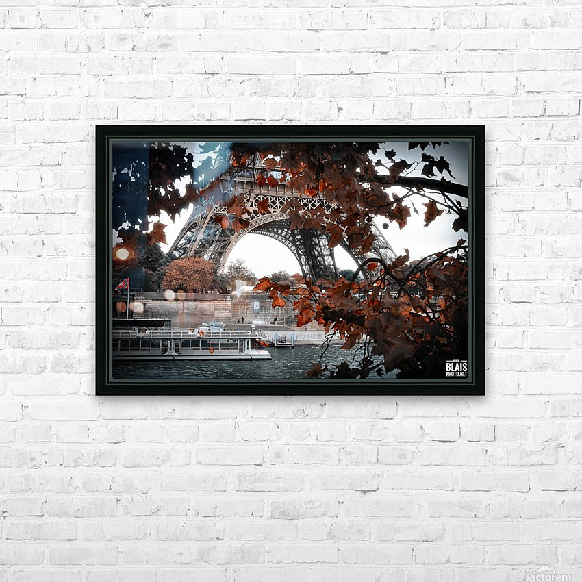 Autumn in Paris HD Sublimation Metal print with Decorating Float Frame (BOX)