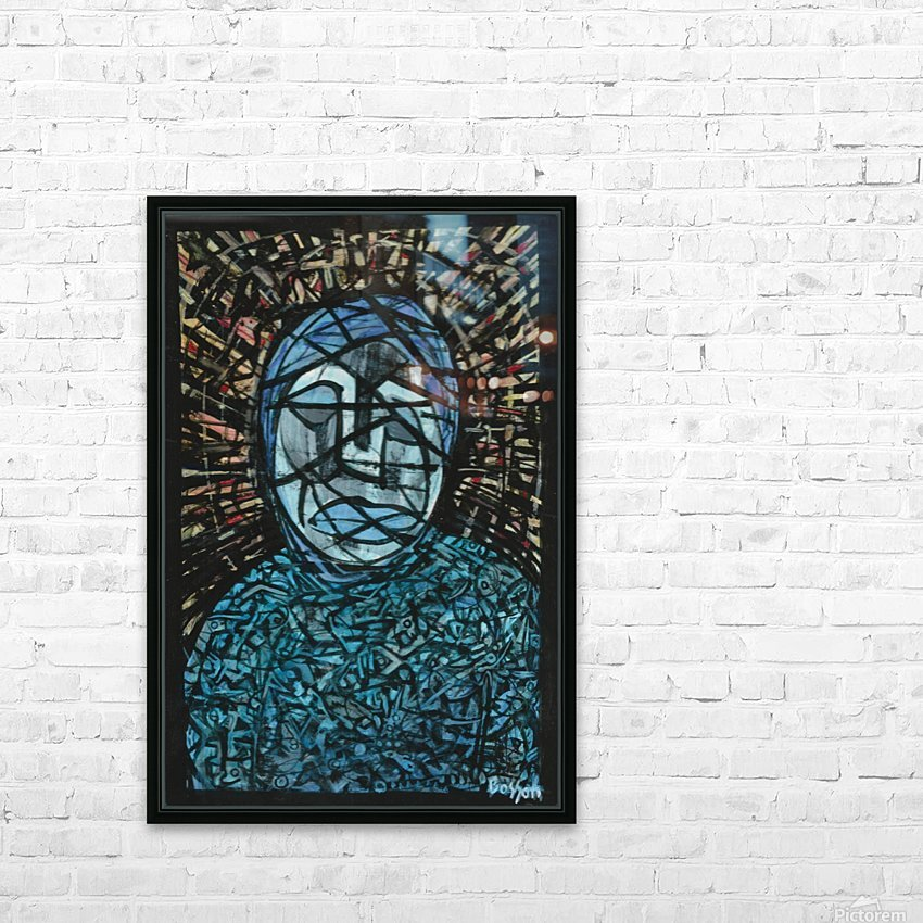 Fatima rejected HD Sublimation Metal print with Decorating Float Frame (BOX)