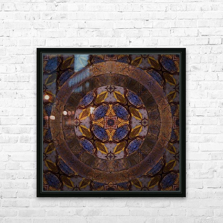 Dutch Portal HD Sublimation Metal print with Decorating Float Frame (BOX)