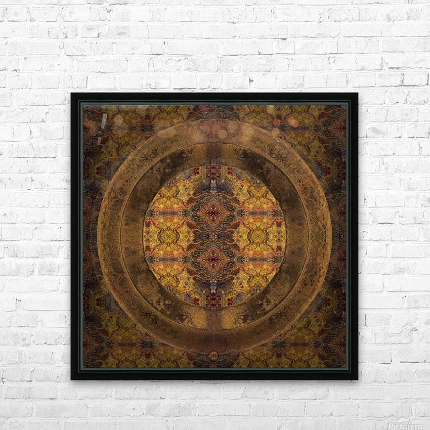 Casbah Window HD Sublimation Metal print with Decorating Float Frame (BOX)
