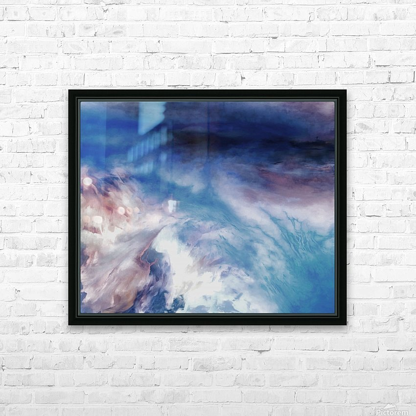 Abstract 10 18 II HD Sublimation Metal print with Decorating Float Frame (BOX)