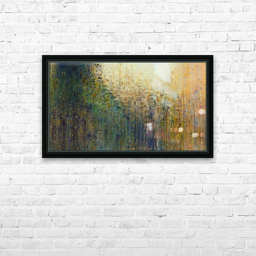 Paris Autumn HD Sublimation Metal print with Decorating Float Frame (BOX)