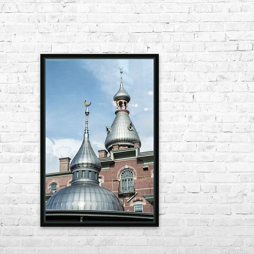 Henry Plant Museum Minarets HD Sublimation Metal print with Decorating Float Frame (BOX)