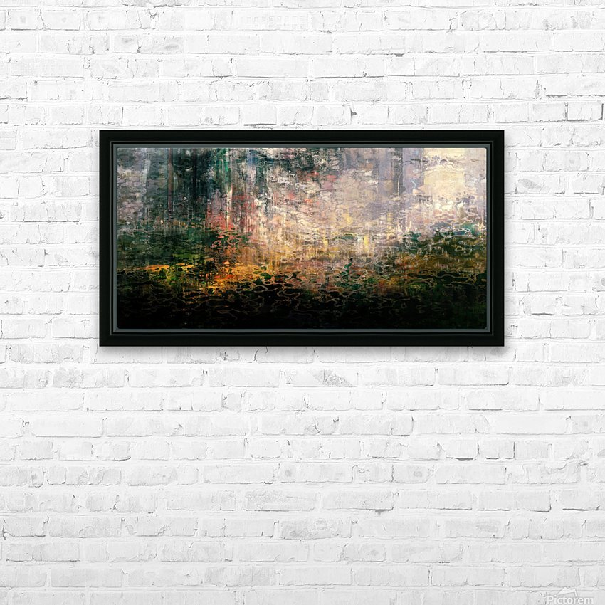Dutch Shore HD Sublimation Metal print with Decorating Float Frame (BOX)