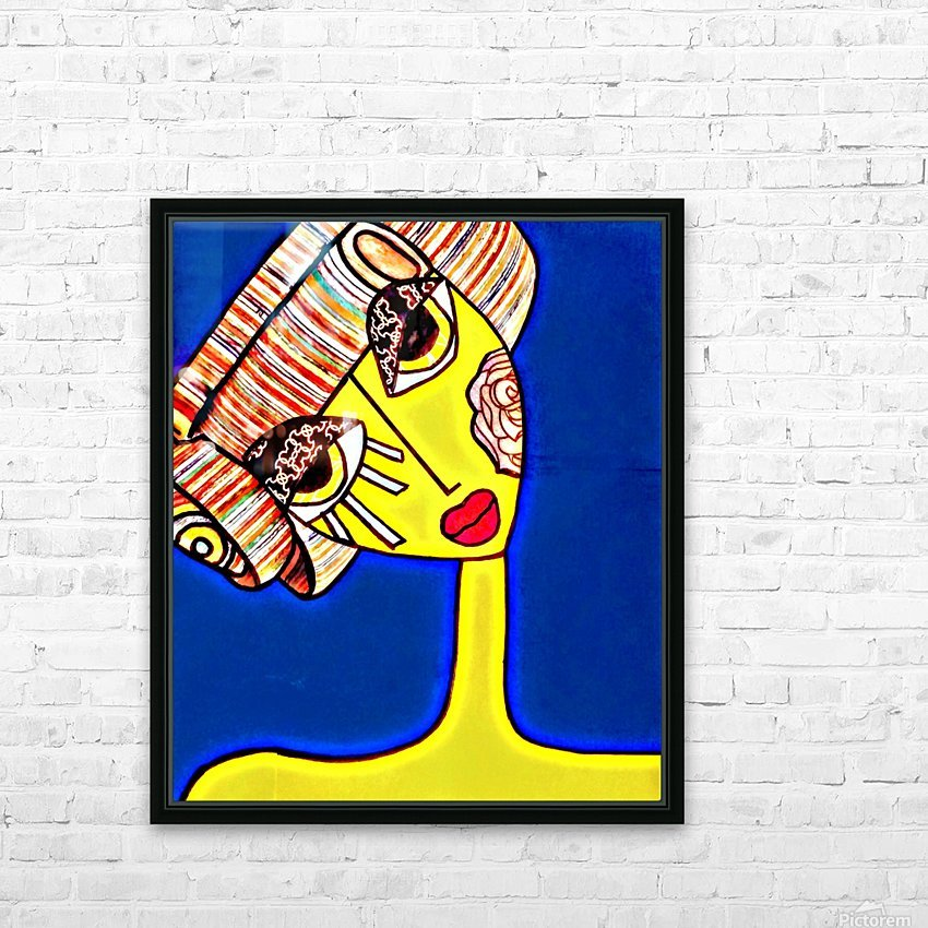 pixel HD Sublimation Metal print with Decorating Float Frame (BOX)
