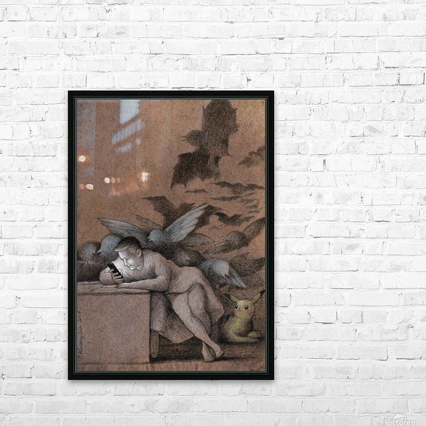 sleep of reason HD Sublimation Metal print with Decorating Float Frame (BOX)
