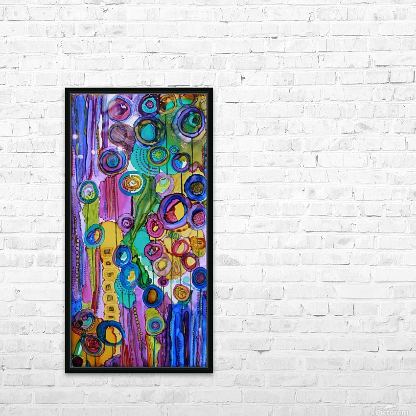 Cosmic Forest HD Sublimation Metal print with Decorating Float Frame (BOX)
