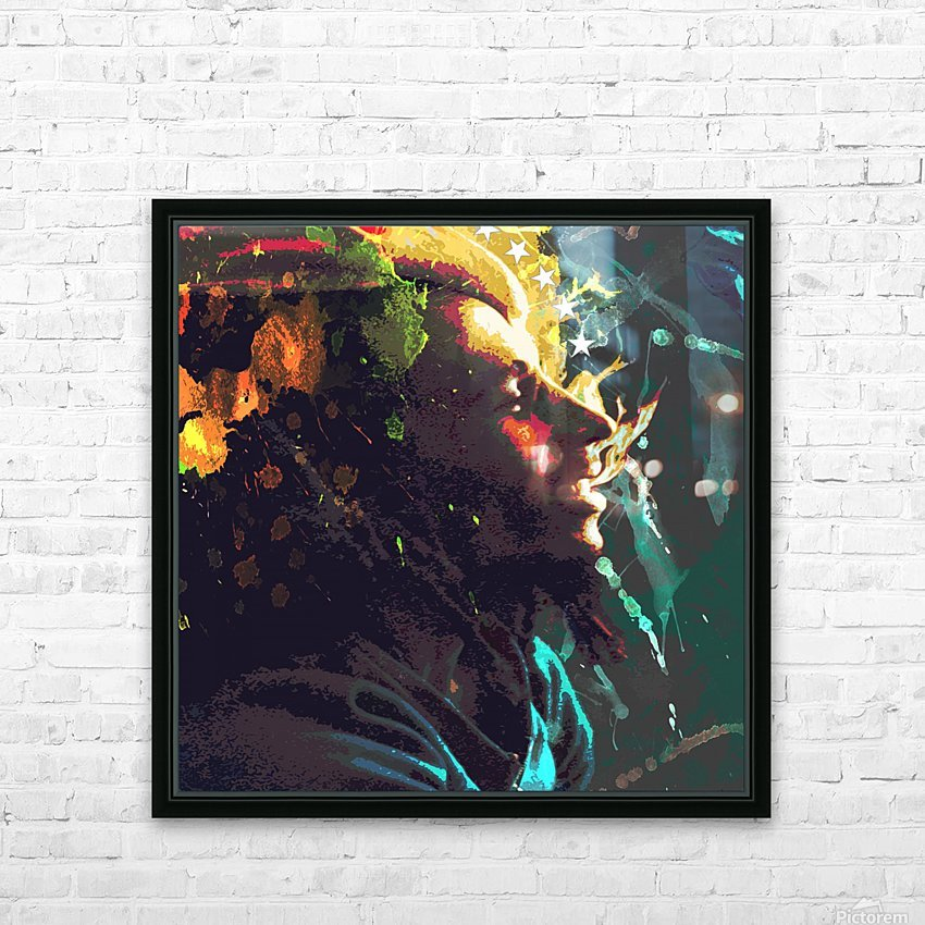 Marley HD Sublimation Metal print with Decorating Float Frame (BOX)