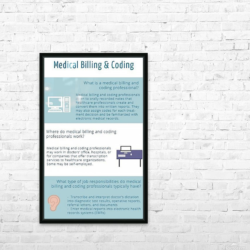 Infographic-Transwise HD Sublimation Metal print with Decorating Float Frame (BOX)