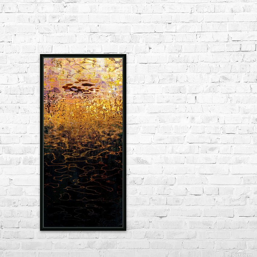 Hell Lakes V HD Sublimation Metal print with Decorating Float Frame (BOX)