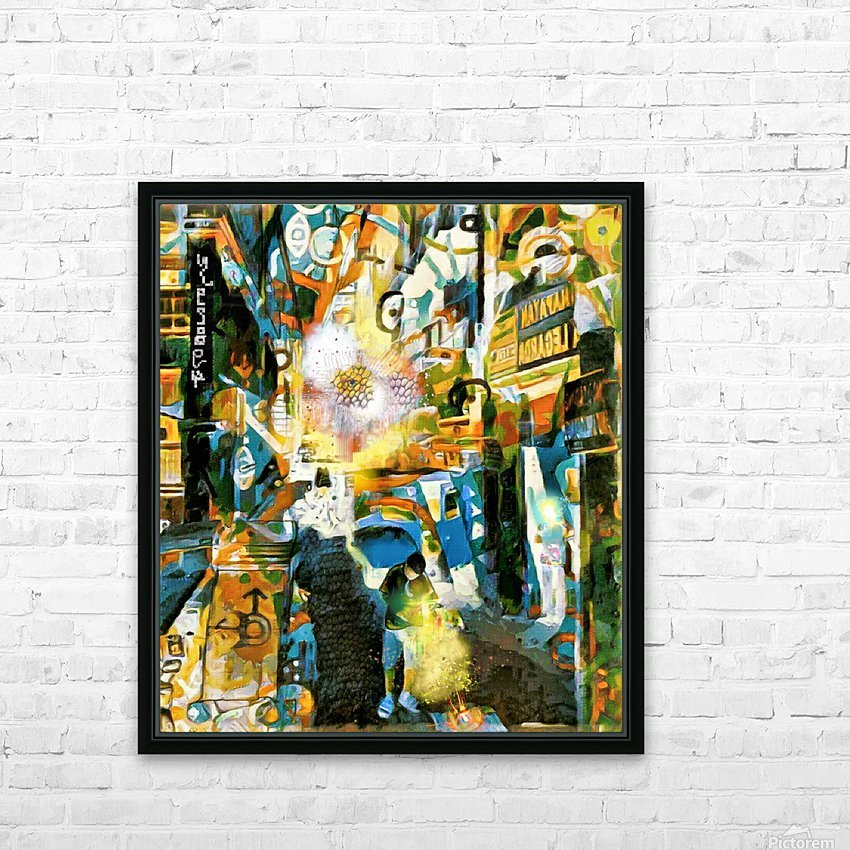 Cyclic Realities in Legarda 1097 HD Sublimation Metal print with Decorating Float Frame (BOX)