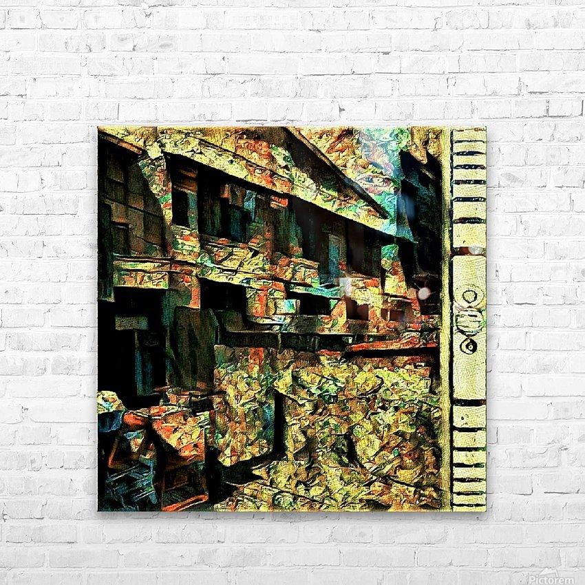 Voyeurs of Sta Cruz Lodge HD Sublimation Metal print with Decorating Float Frame (BOX)