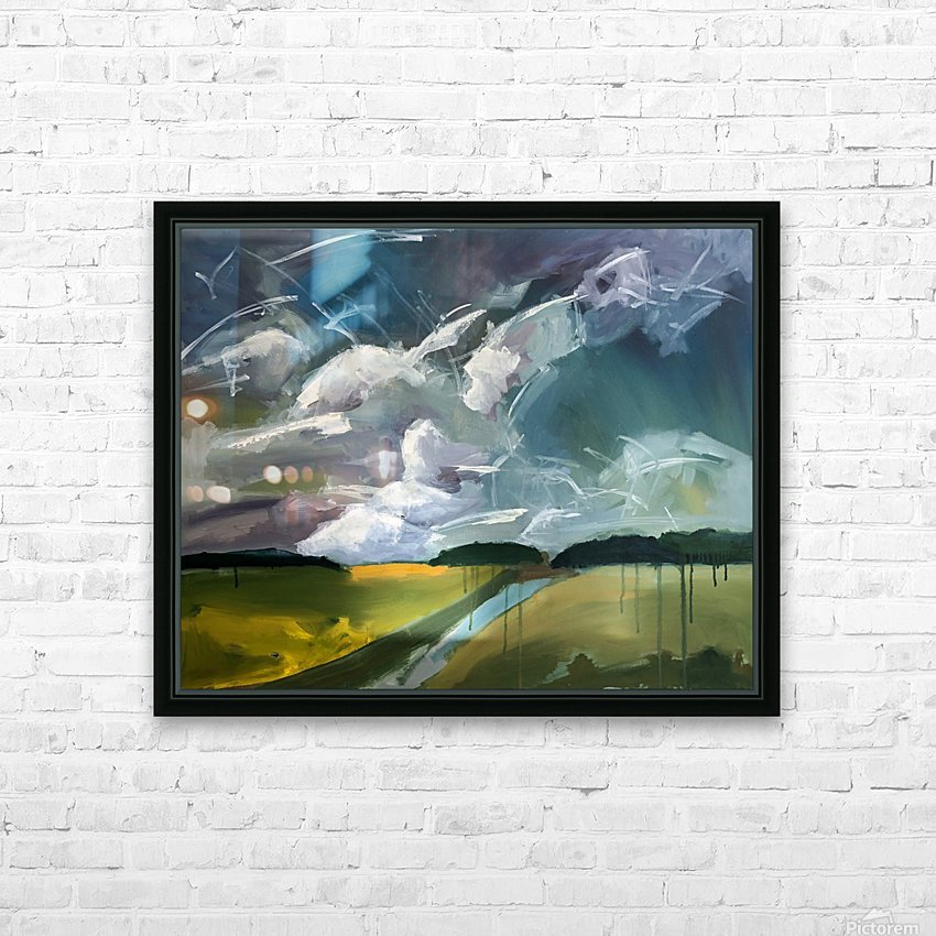 Dancing Clouds_final HD Sublimation Metal print with Decorating Float Frame (BOX)