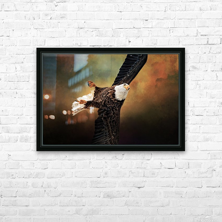 On a Dime HD Sublimation Metal print with Decorating Float Frame (BOX)
