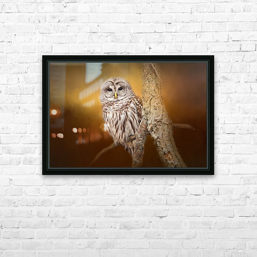 Seen HD Sublimation Metal print with Decorating Float Frame (BOX)