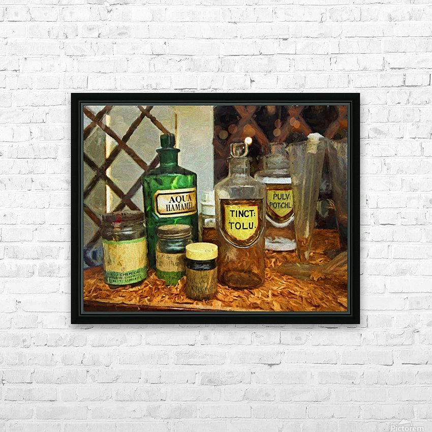 Pharmacie HD Sublimation Metal print with Decorating Float Frame (BOX)
