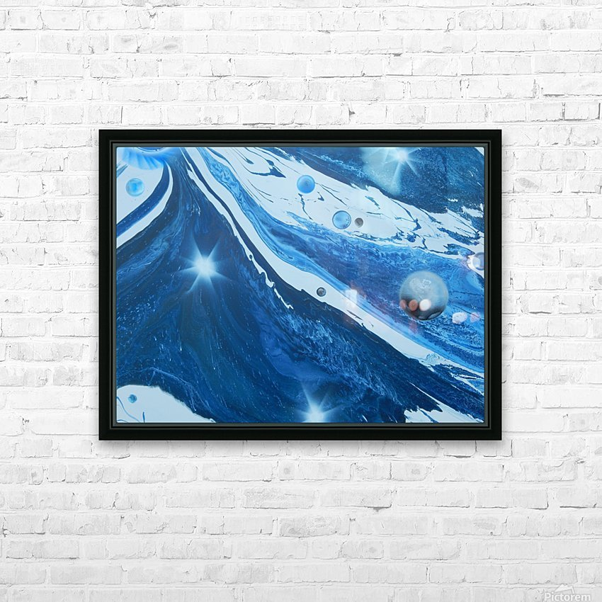 STAR MAKER HD Sublimation Metal print with Decorating Float Frame (BOX)