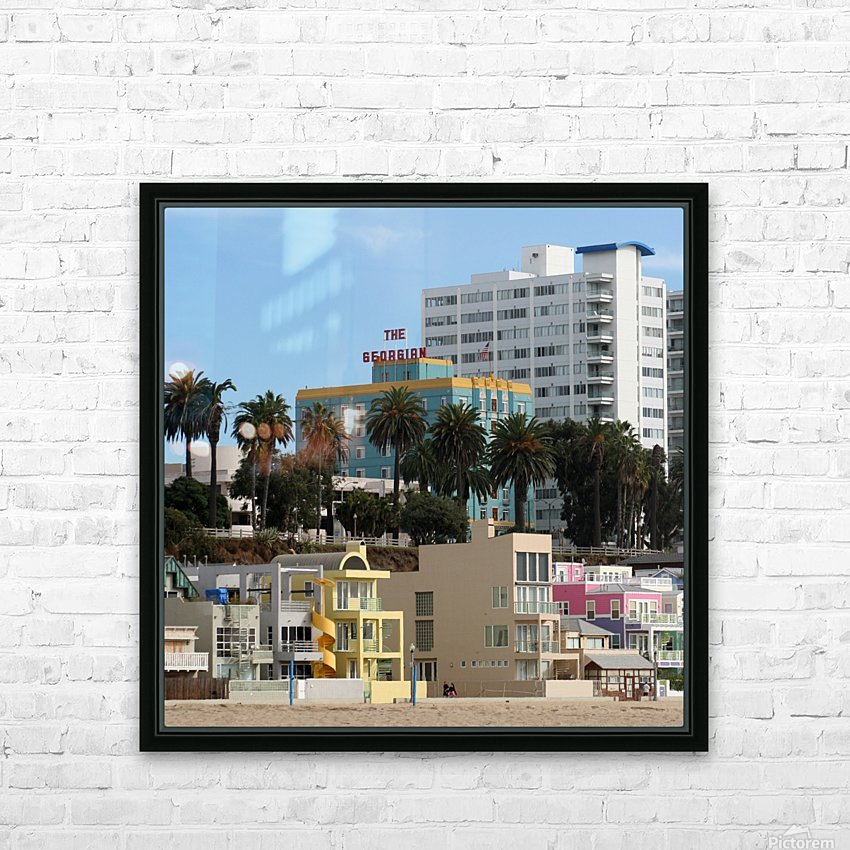 The Georgian at Santa Monic Beach HD Sublimation Metal print with Decorating Float Frame (BOX)