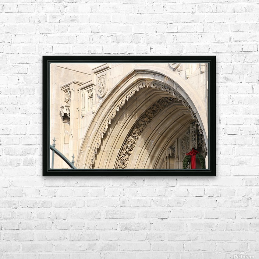 Church Arch HD Sublimation Metal print with Decorating Float Frame (BOX)