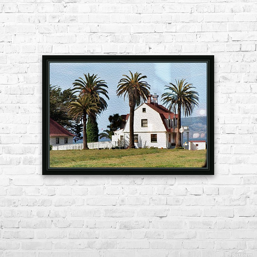 House at San Francisco Presidio Park HD Sublimation Metal print with Decorating Float Frame (BOX)