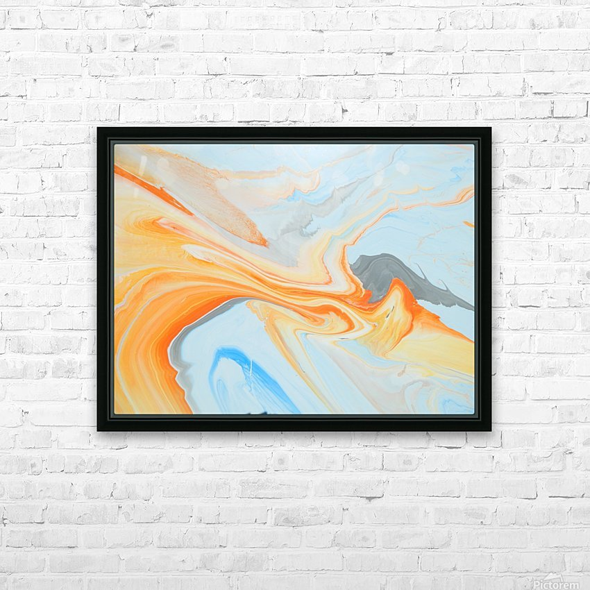 FIRESPEAR HD Sublimation Metal print with Decorating Float Frame (BOX)