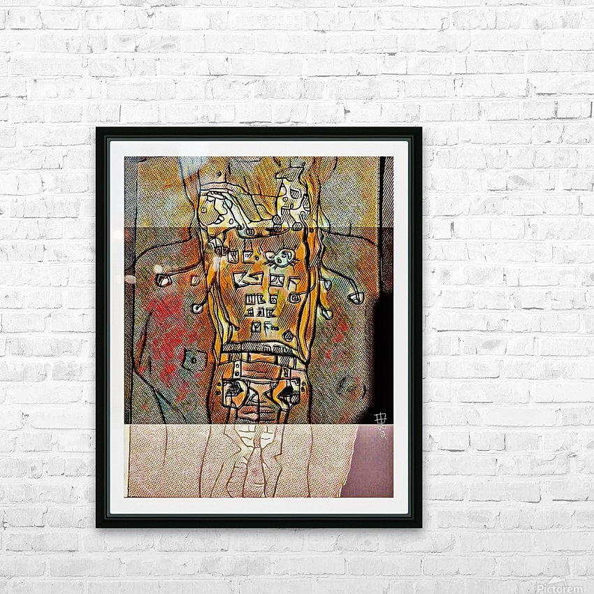 Ms. Charles' Syndrome HD Sublimation Metal print with Decorating Float Frame (BOX)