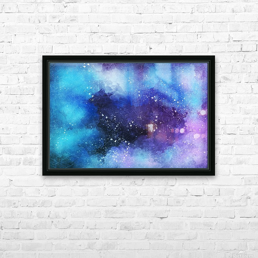 background6 HD Sublimation Metal print with Decorating Float Frame (BOX)