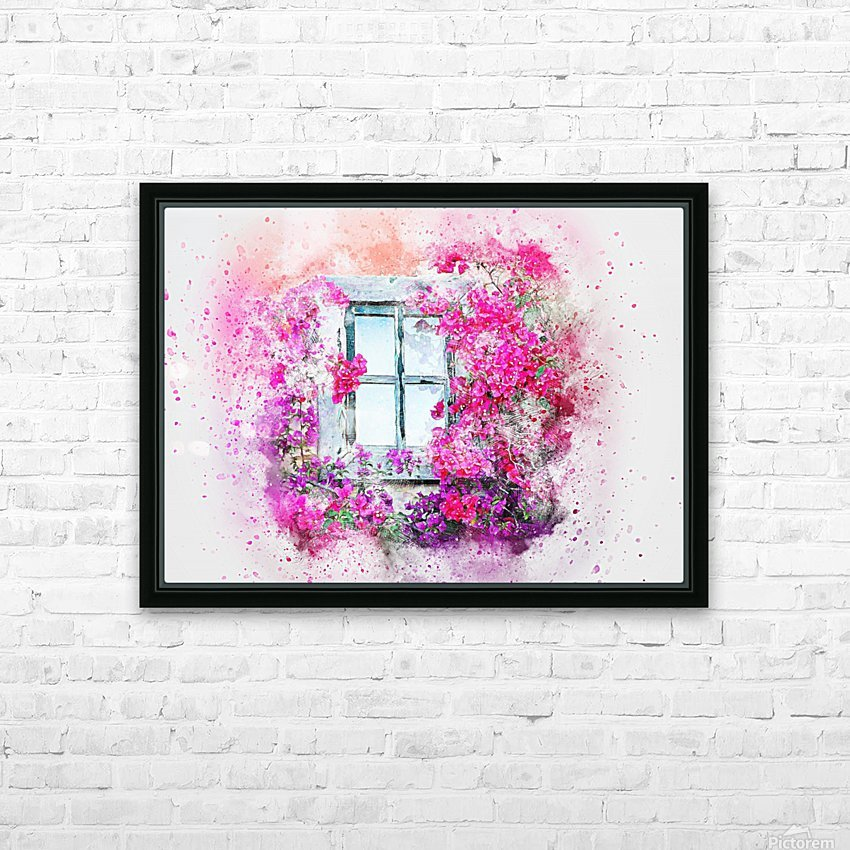 windows HD Sublimation Metal print with Decorating Float Frame (BOX)