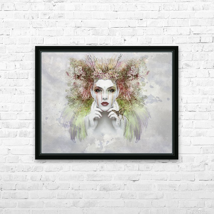 face HD Sublimation Metal print with Decorating Float Frame (BOX)