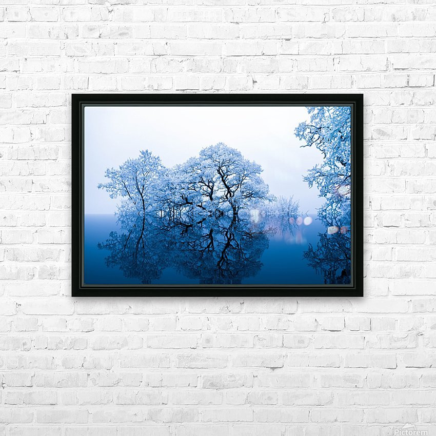 nature HD Sublimation Metal print with Decorating Float Frame (BOX)
